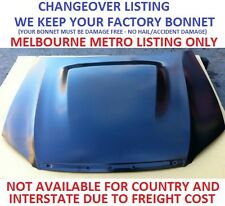 Ford Falcon FG XR8 Turbo Bonnet Hood with Hump CHANGEOVER we keep your bonnet
