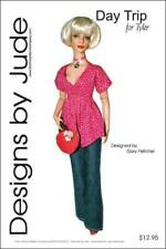 Day Trip, Jeans & Top Doll Clothes Sewing Pattern for Tyler Tonner