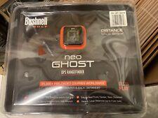 New Bushnell NEO Ghost Golf GPS/Rangefinder, BLACK 368220