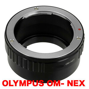 OM - NEX  Olympus OM  Objektiv Lens Adapter an-to Sony NEX Kamera E-Mount