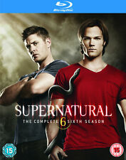 Supernatural - Season 6 Complete [2011] [Region Free] (Blu-ray)
