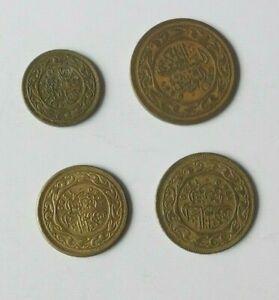 Lote Monedas Túnez 10,20,50,100