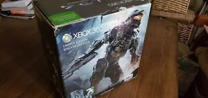 Xbox 360 Halo 4 Limited Edition Console BOX ONLY