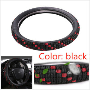 Viscose Fiber Car Steering Wheel Cover Interior Non-Destructive Installation