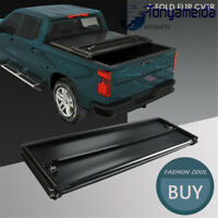 Fits For Toyota Tacoma 2005-2015 Bed Premium Solid Hard 4-Fold Tonneau Cover 6ft