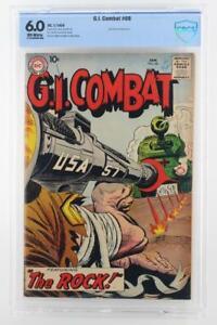 G.I. Combat #68 - CBCS 6.0 FN - DC 1959 (Sgt. Rock prototype) RARE!!!