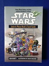 Star Wars Galactic Phrase Book & Travel Guide by Ben Burtt~Huttese Bocce