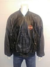 Harley Davidson An American Legend 100% Leather jacket - Bomber style men's XXL