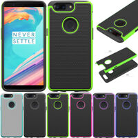 Slim Armor Hybrid Hard Impact Rugged Case Shockproof Phone Cover For OnePlus 5T