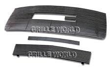 For 2007-2010 GMC Sierra 2500/3500 HD Billet Premium Grille Grill Combo Insert