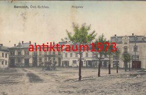 AK Bennisch Öst.-Schlesien Ringplatz Horní Benešov Mírové nám. Nr. 113