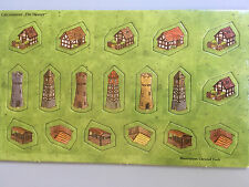 Carcassonne Mini Expansion - Little Buildings, Brand New with English Rules