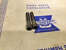 NOS Pair of Steering Socket Head Bolt 150697. Triumph TR4 - Tr6 —-/20/1—