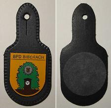 Emaillierter Brustanhänger BPD Bereitschaftspolizeidirektion Biberach / Polizei