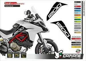 2 Adhesives DUCATI Multistrada 1200 Hip Tank Monochrome from The 2015 IN Poi