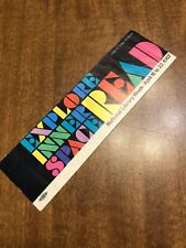 National Library Week 1967 Vintage Bookmark Vera Deutsch