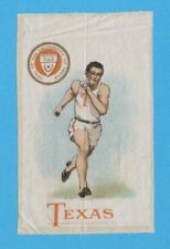 c1910s S22 Murad Cigarettes tobacco silk University of Texas track / runner