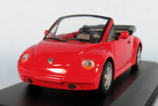 MINICHAMPS VW 1994 New Beetle Cabrio (Red) 1/43 Scale Diecast Model NEW, RARE!