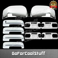 2015 Ford F-150 4Drs W/O Pskh, Smrtkh+Base Plate+Mirror Abs Chrome Covers