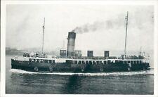 Postcard shipping Mersey ferry Leasowe II Friends of the Ferries card