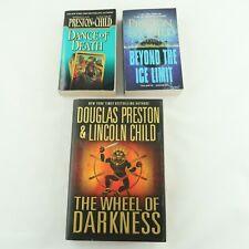 Lot Of 3  Preston & Child Novels 1 Hardcover 2 Paperbacks NY Times Best Selling
