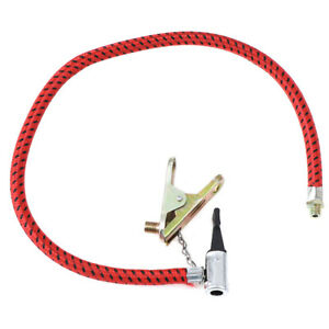 Bike Tyre Air Pump Inflator Replacement Extension Hose For Schrader Sale X4Z3