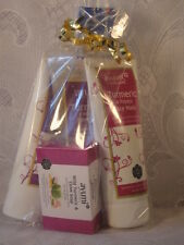 GIFT SET WILD TUMERIC FACE CREAM+FACE WASH+FACE MASK+1 SOAP+ INCENSE=5 ITEMS