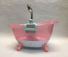 Baby Born Musical Foaming Bathtub Lights Sounds- Works! Batteries Included