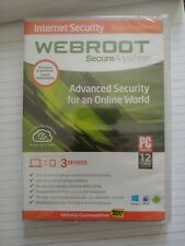 New in plastic - Webroot Secure Anywhere Internet Security Plus (3 Devices)