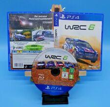WRC 6 Rennspiel / Racing Game · PS4 PlayStation 4 · TOP Zustand · getestet & OVP