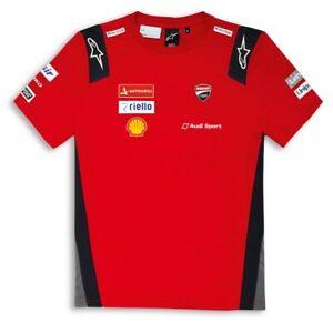 Ducati Corse GP19 Replica short Sleeve T - Shirt Moto Gp Dovizioso Petrucci New