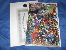 JLA AVENGERS #3 Signed by Stan Lee w/COA ~Marvel/DC Comics GEORGE PEREZ ART