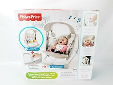 Portable Baby Swing Seat Comfortable Padded Soft Seat Fold Flat Battery Operated