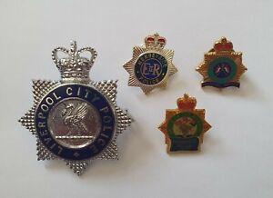 Merseyside Police Pin Badges