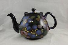 Royal Stanley Ware Jacobean Clematis Teapot Art Deco