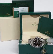 Mens Rolex Submariner 116610 Date Ceramic Bezel Steel Watch Box Papers