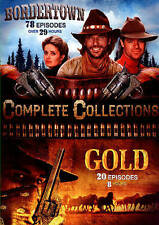 Bordertown/Gold: Complete Collections DVD, 2015, 78 EPISODE 4-Disc Set brand new