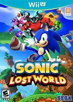 NEW Sonic Lost World  (Wii U, 2013) NTSC