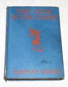 The Clue in the Diary - Nancy Drew - Carolyn Keene 1932