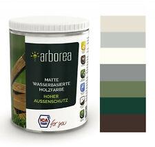 Holzlack Außen Holzfarbe Wetterschutzfarbe Landhausfarbe Holzschutz Carpot Lack