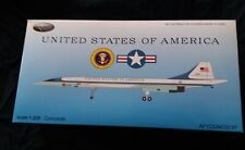INFLIGHT 1/200  USAF CONCORDE WITH STAND AF1CONC001P