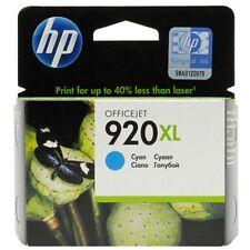 Original HP 920XL Tinte CD972AE cyan für OfficeJet 6000 6500 7000  2015  OVP