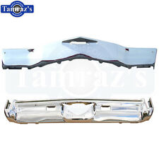 1972 Monte Carlo Front & Rear Bumper Kit Triple Chrome Plated New
