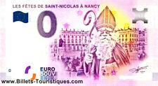 NANCY  SAINT NICOLAS  Billet  Touristique  BANKNOTE EURO SCHEIN MONEY