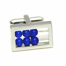 Abacus Functional Mathematician Engineer Teacher Wedding Cufflinks