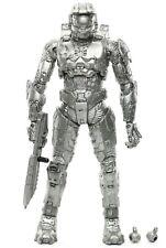 "Halo Anniversary PLATINUM SILVER MASTER CHIEF 5.5"" Action Figure McFarlane 2011"