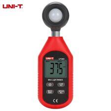 UNI-T Misuratore digitale LUX luminosità luce luminometro esposimetro studio