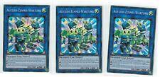 3x Aufzieh Zenmei Wartung FLOD-DE049,1st, Super Rare, Deutsch, Mint, Playset