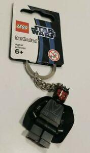 Lego Disney Star Wars Minifigure DARTH MAUL Keychain Key Ring New with Tag