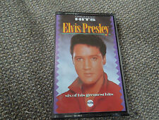 Elvis Presley Greatest Hits RARE Cassette Album